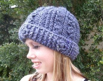 Mountain Lodge Crochet Hat