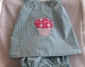 Cupcake Dress Size 3T