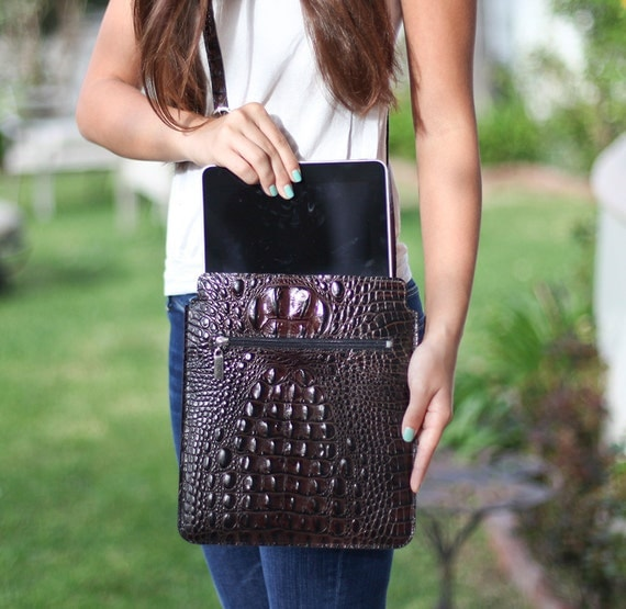 Leather Ipad Bag for 1 & 2