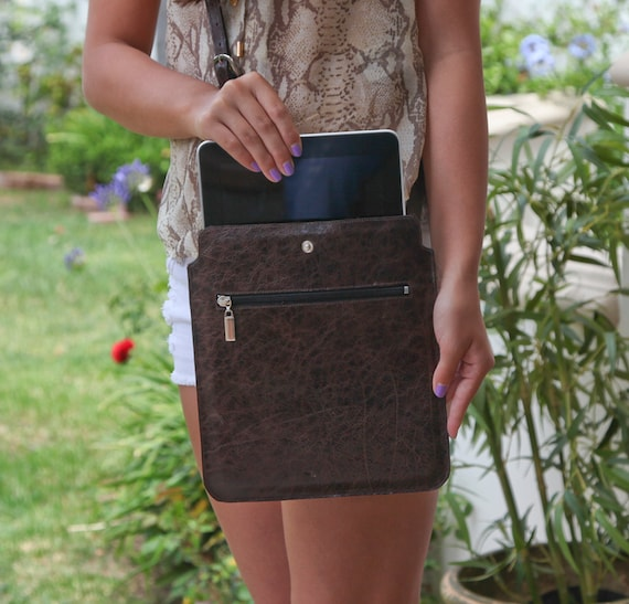 Leather Ipad Bag for 1, 2, or 3 w/ Smartcover