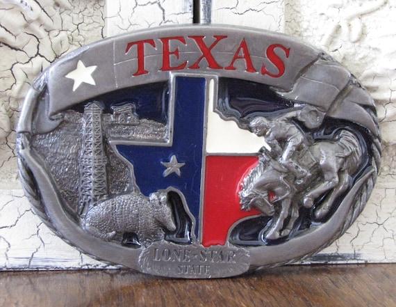 "Vintage ""Texas"" Belt Buckle"