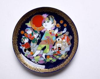 Vintage Wall Plate Aladdin Serie (2) - Bjørn Wiinblad for Rosenthal