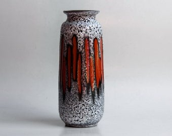 1970s West German Vase - Scheurich 'Lora' (1)