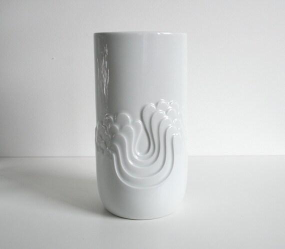 Op Art Vase 'Blütenfest' - Thomas
