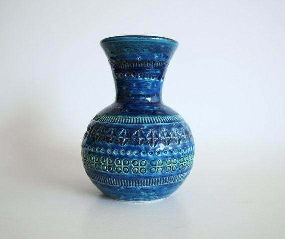 Rimini Blu Vase - Bitossi