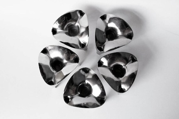 Set of 5 Candle Holders  - Nagel