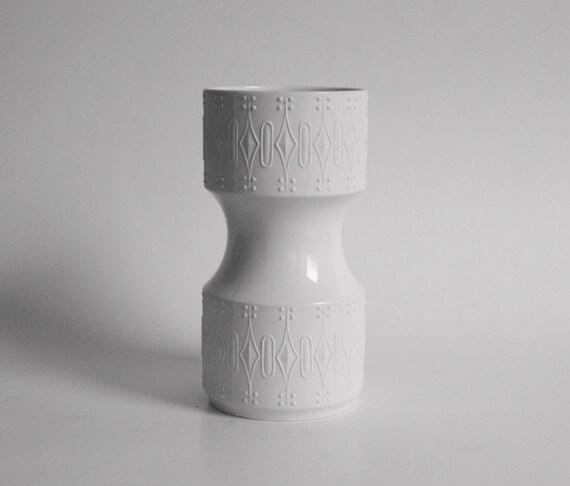 Modern Porcelain Vase - KPM Germany 1970s
