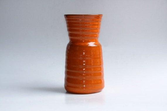 Retro Vase Orange -60s