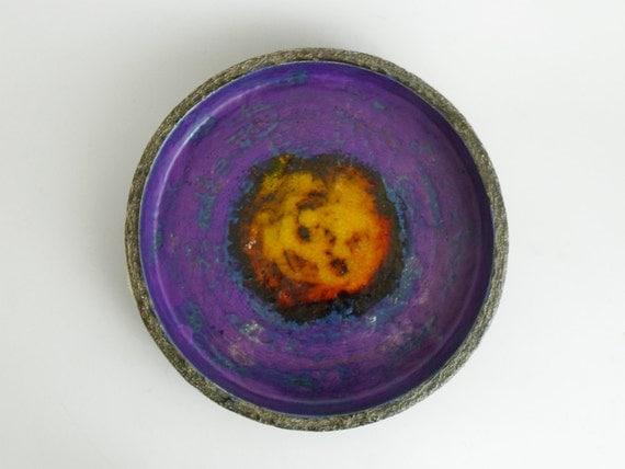 Vintage Purple German Bowl - 1970s
