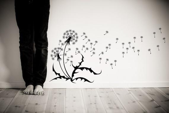 Dandelion Blowing Drawing Dandelion Blow