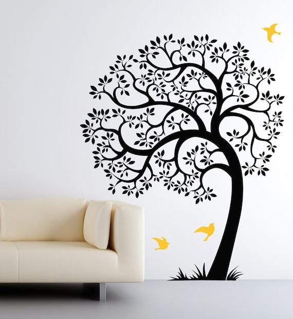 Original Tree Decals Sticker 80H x 67W SKU1506 Tree Wall Decal tree mural