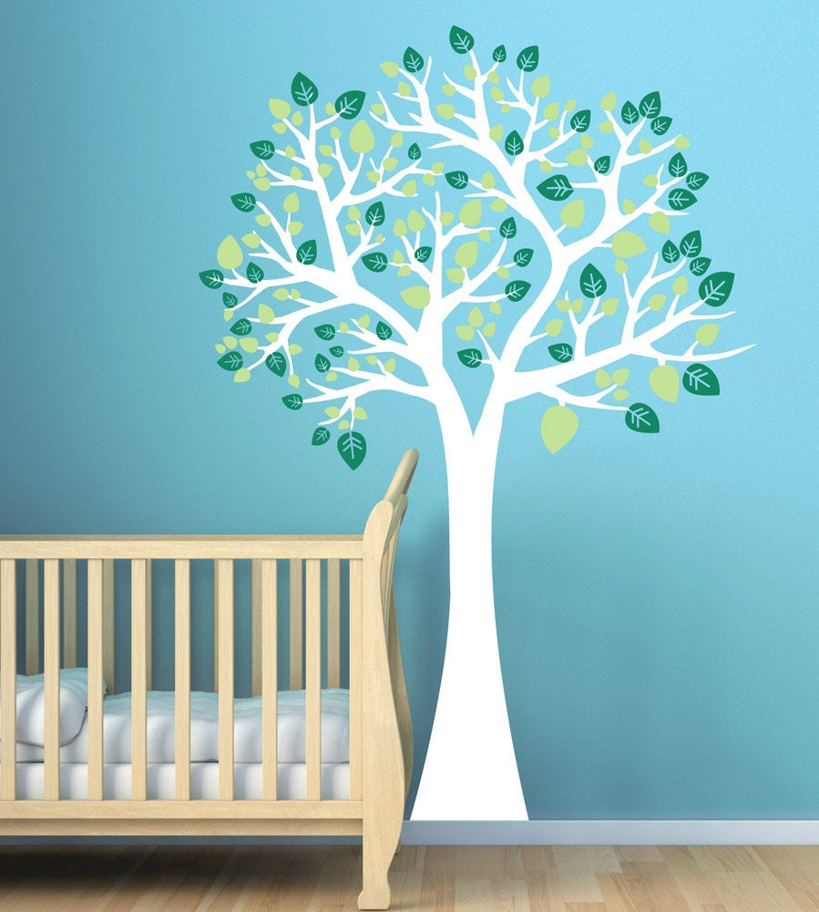 Large Tree Wall Decal For Nursery Playroom Baby Wall Decals