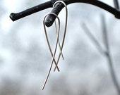 Sterling Silver Earrings, Simple Earring, Threader Earrings, Everyday Earrings