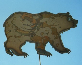 Bear Yard Art by Rustiques Garden Art