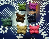 73 lovely cats buttons various colors