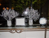 Wedding Decorations Silver Wishing Tree