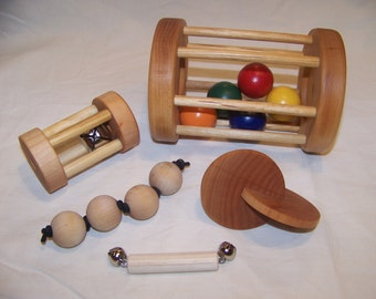 Montessori Baby Toys - Five Pack of Toys