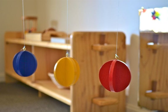 Montessori Baby Mobile - Primary Colors Mobile