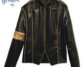 """Michael Jackson's """"Black Faux Leather Jacket"""""""