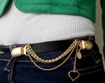 Clothes Fastener - Dress Fastner - Dress Clasp - Black Clothes Fastener- Black Dress Fastener - Bridesmaid Gift - Black Belt
