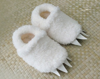 Wolf Slippers inspired by Max in Where The Wild Things Are