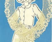 Fashion Lace Collar from Stretch and Sew