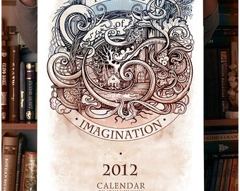 "Calendar 2012 ""The Eyes of imagination"""