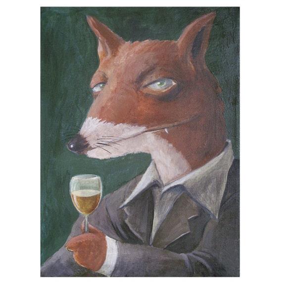 Moderate Drinking Fox