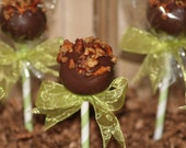 Mom's Killer Cakes & Cookies Russell Rainey's Best Brownie Truffle Cake Pops With Pecans Toasted in Butter and Sea Salt