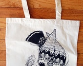 Canvas Tote Bag : find the path
