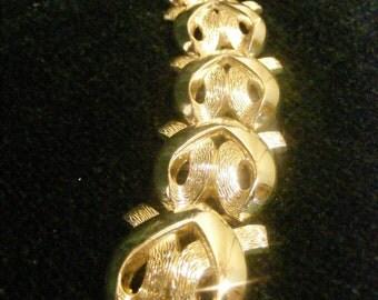 On Sale Chunky Silver Metal Statement Bracelet