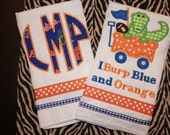Set of 2 University of Florida Burp Cloths