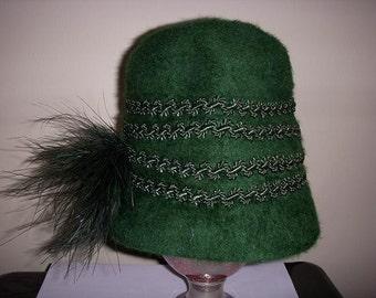 20s 30s ladies vintage gatsby hat