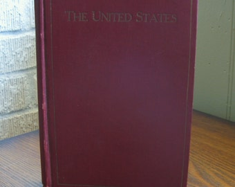 The United States copyright 1907 Antique Book