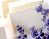 Organic Heavenly Scent Lavender Cold Process Handmade Milk Soap - All Natural