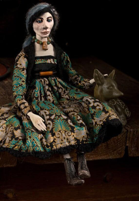 OOAK Art Doll - Deidre RESERVED for Teresa