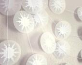 Paper Garland - Winter's Breath