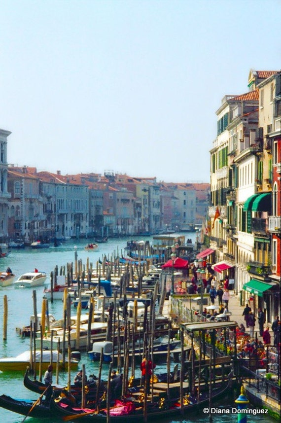 Venice Photography - Grand Canal Photos - Venice Wall Art - Romantic Fine Art Photography for Wedding Gifts -Italy Art Print