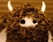 Moog - fluffy yeti sasquatch monster plushie