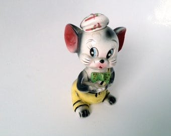 30% Sale  - Large 1950s Japanese Mouse