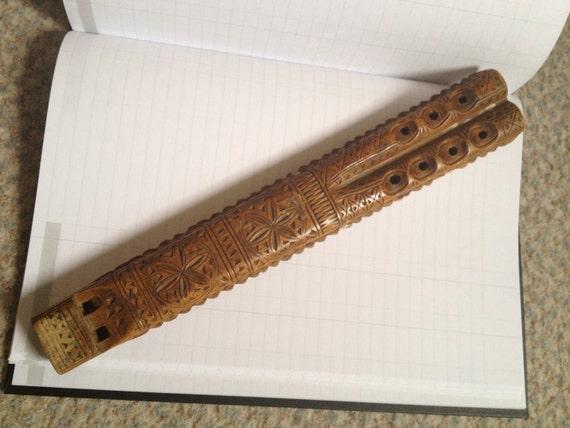 Vintage Wooden Musical Instrument