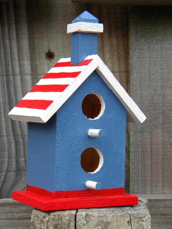 Items Similar To Small Decorative Handpainted Bird House