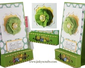 3-in-1 Treat Bag, Gift Box & Greeting Card PDF Tutorial