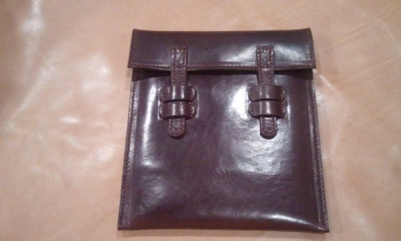 Leather Ipad/Android Tablet/Mac Air/ Ultra book sleeve
