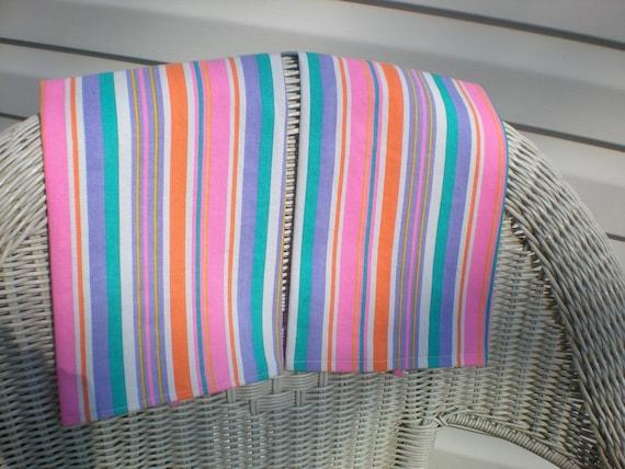 bright stripes heavy cotton tea towels kitchen towels housewares gift