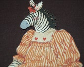 Little Country Zebra Doll