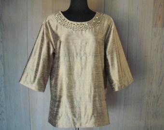 Thai silk tunic