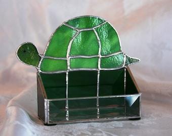 Mr. Turtle Business Card Holder