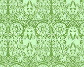 On Sale Amy Butler- Soul Blossoms- Temple Doors in Basil- 1 Yard