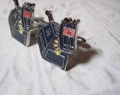 Tribute to Doctor Who K-9 Cufflinks